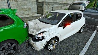 HORRIFIC Log Truck Crash Pile Up! Can We Save Them? - Accident FULL GAME