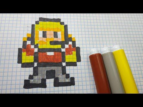 Coloriage Fortnite Graffeuse.Pixel Art De Chien Pixel Art Facile Animaux Petit Pixel Art