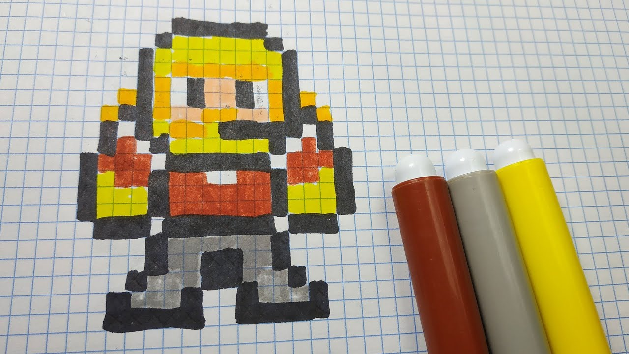 Dessins Pixel Art Fortnite