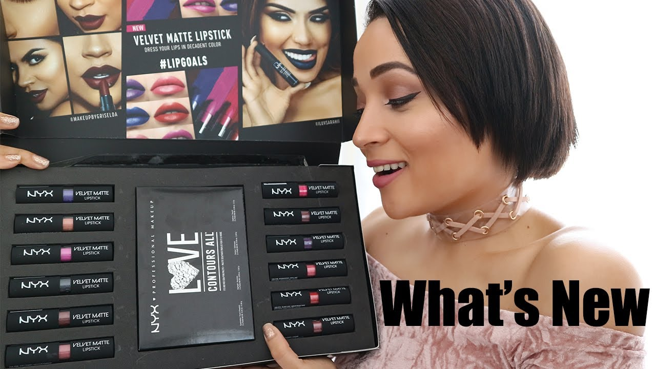 Whats New Nyx Professional Makeup Velvet Matte Lipsticks W Lip