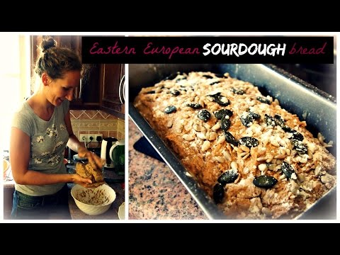 Sourdough Bread 101 (Part 2): Eastern European Recipe with Rye and Sunflower Seeds | VitaLivesFree