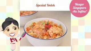Dapur Umami - Nasgor Singapura ala SAJIKU