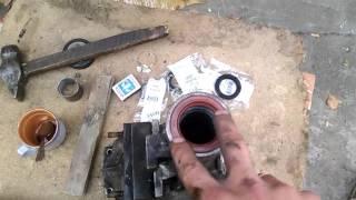 ремонт удлинителя кпп  газель часть 2(, 2015-09-30T09:57:49.000Z)