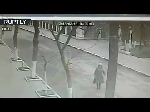 Church shooting CCTV: Recording of deadly attack in Dagestan shows gunman open fire (DISTURBING)