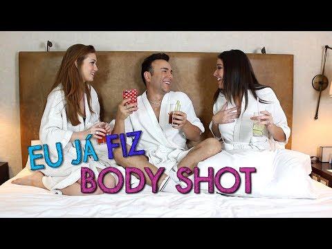 Eu ja fiz Body Shot com Marina Ruy Barbosa e Luma Costa | #HotelMazzafera