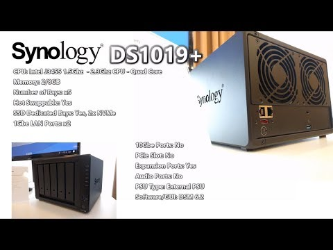 Repeat DS1019+ NAS At The Synology Solution Exhibition