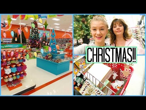 christmas shopping at michaels and target target christmas decorations 2016 youtube