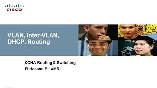 VLAN, INTER-VLAN, DHCP, ROUTING (Darija)