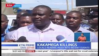 Kakamega killings: Spate of murders continue after night guard was killed in Maraba area