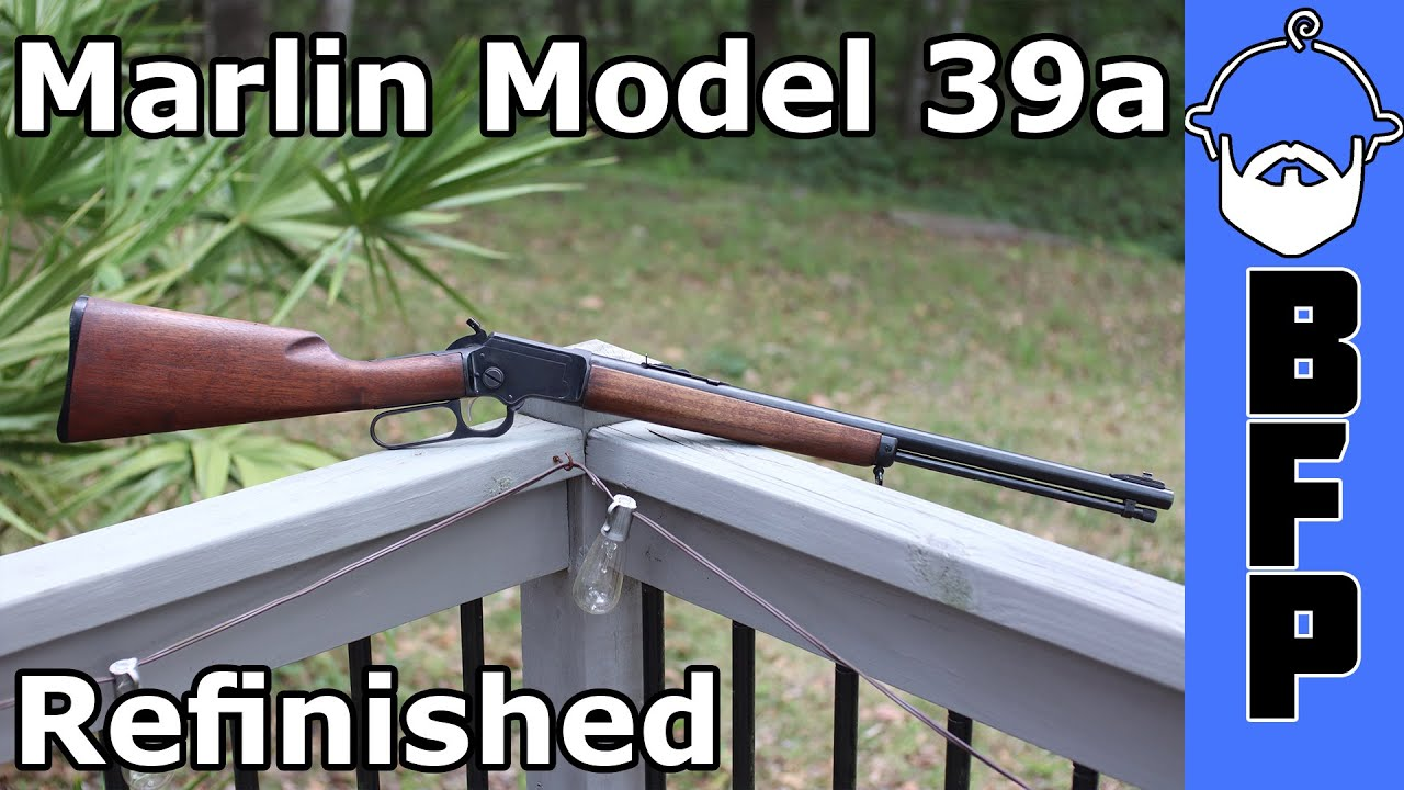 Marlin Model 39a Refinished