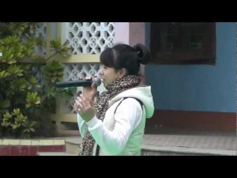 trường THPT Bỉm Sơn kỷ niệm ngày học sinh sinh viên việt nam 12a3