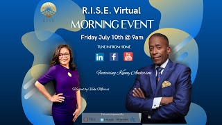 Kenny Anderson Presents for RISE Morning Event