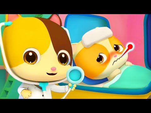 Going to the Doctors | Kitten Timi Got Sick | Doctor Cartoon | Nursery Rhymes | Kids Songs | BabyBus