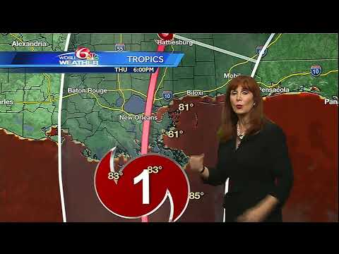 Tuesday evening: Latest update from Margaret on Nate