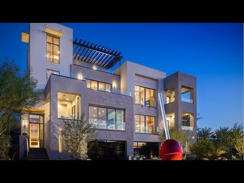 Ultra modern 3 story home for sale henderson city view for Sale moderne