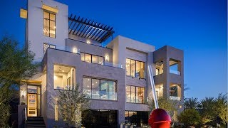 Ultra Modern 3 Story Home For Sale Henderson City View | $945K | 2 Beds | Study | 2 Decks | 2 BA