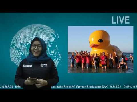 Missing giant yellow duck found in Australia (NEWS TASK ; ENGLISH FOR COMMUNICATION)