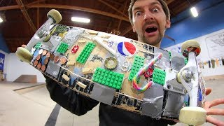 THE CRAZY EVERYDAY USE SKATEBOARD! | YOU MAKE IT WE SKATE IT EP 162
