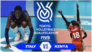Italy vs Kenya | Highlights - Women | Volleyball Olympic Qualifying Tournament 2019 (HD)