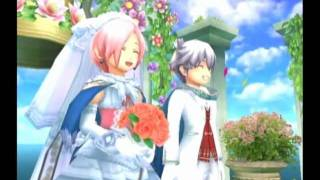 Rune Factory: Tides of Destiny - Sonja's Spring Date, Proposal and Wedding