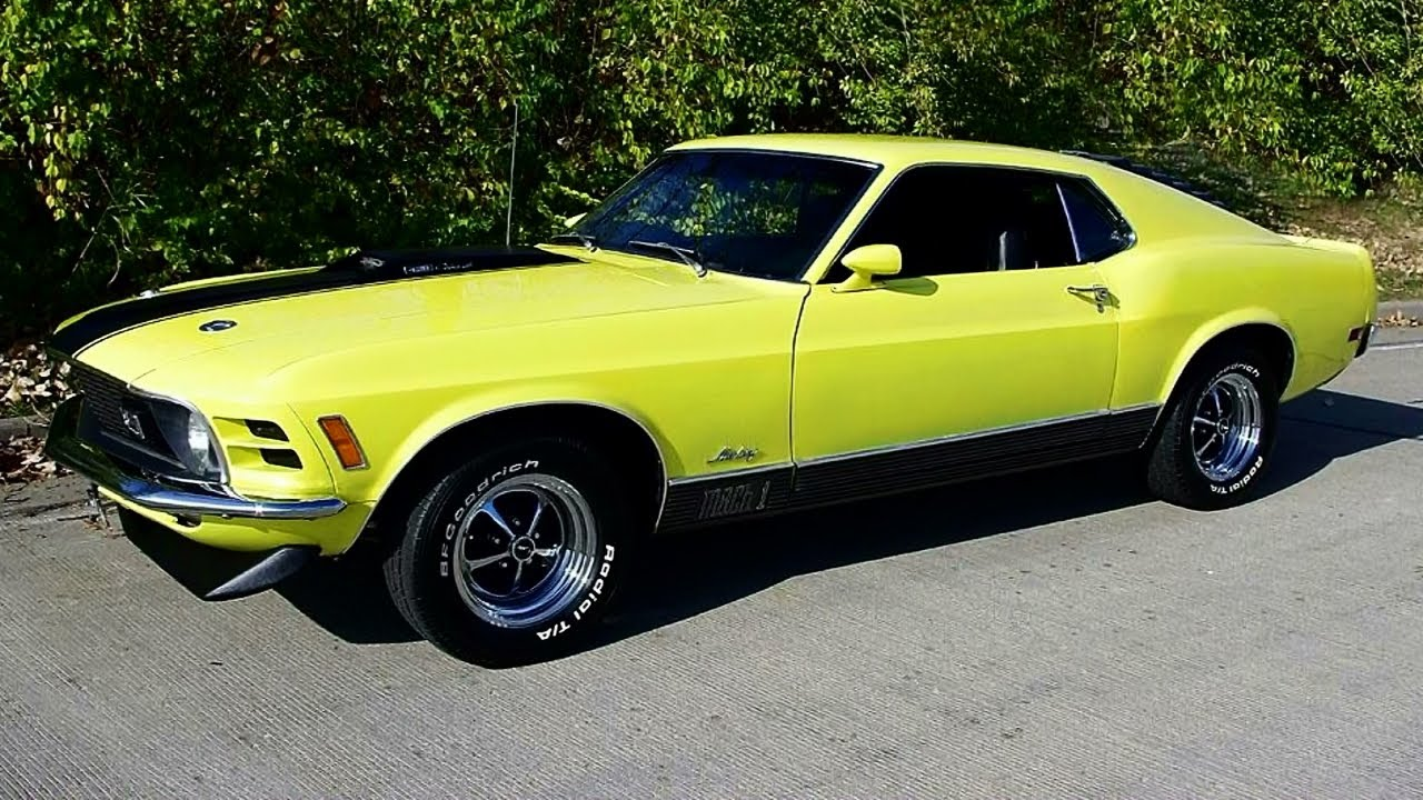 Ford Mustang Mach Cobra Jet Fastback Youtube