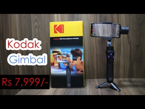 Kodak XD1 Smartphone Gimbal Review, Create Cinematic Smooth Videos With Smartphone Rs. 7,999