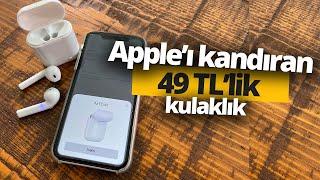 Apple'ı kandıran 49 TL'lik kulaklığı denedik! - A101'de satılan TWS kulaklık inceleme!