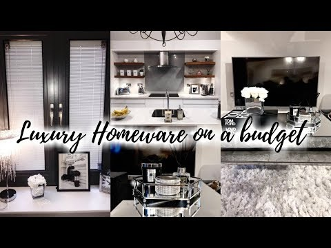 HOW TO CREATE A LUXURY HOME ON A BUDGET // GREY + WHITE INTERIOR