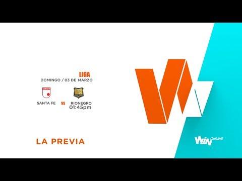 Santa Fe vs Rionegro (La Previa) | Liga Aguila 2019-1 | Fecha 8
