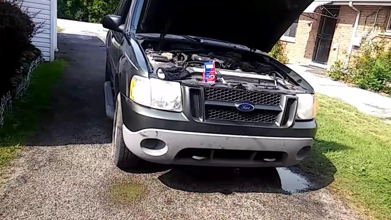 2006 ford explorer overheating