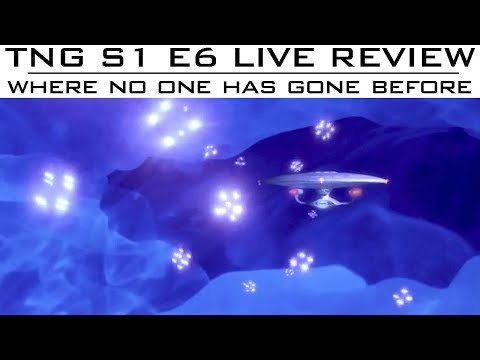 """ST: TNG LIVE Review S01E06 """"Where No One Has Gone Before""""- Trekyards"""