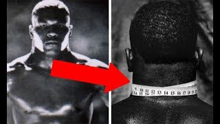 MIKE TYSON - EXTREME NECK TRAINING (How to Get a 20.5 Inch Neck)