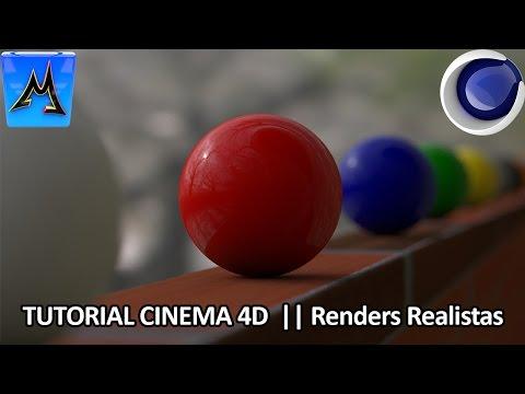 Tutorial Cinema 4D || Como crear Imágenes Realistas & Profesionales + HDRI