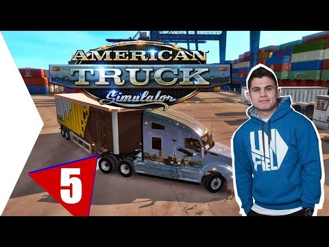 ENGEDJETEK MÁR BE! :D | American Truck Simulator #5.