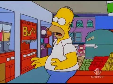 I Simpson ITA - Homer sorprende Apu con un'altra donna