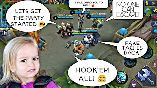 FULL TANK TEAM EPIC GAMEPLAY 😎🤣 EPISODE 3 | 2 INTENSE MATCHES | WOLF XOTIC | MOBILE LEGENDS