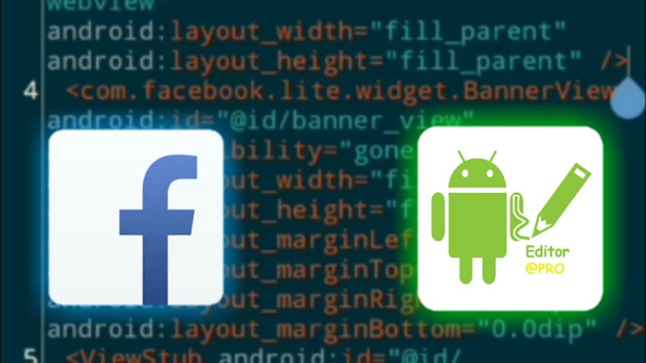 How to mod Fb lite (Marquee) with Apk Editor pro