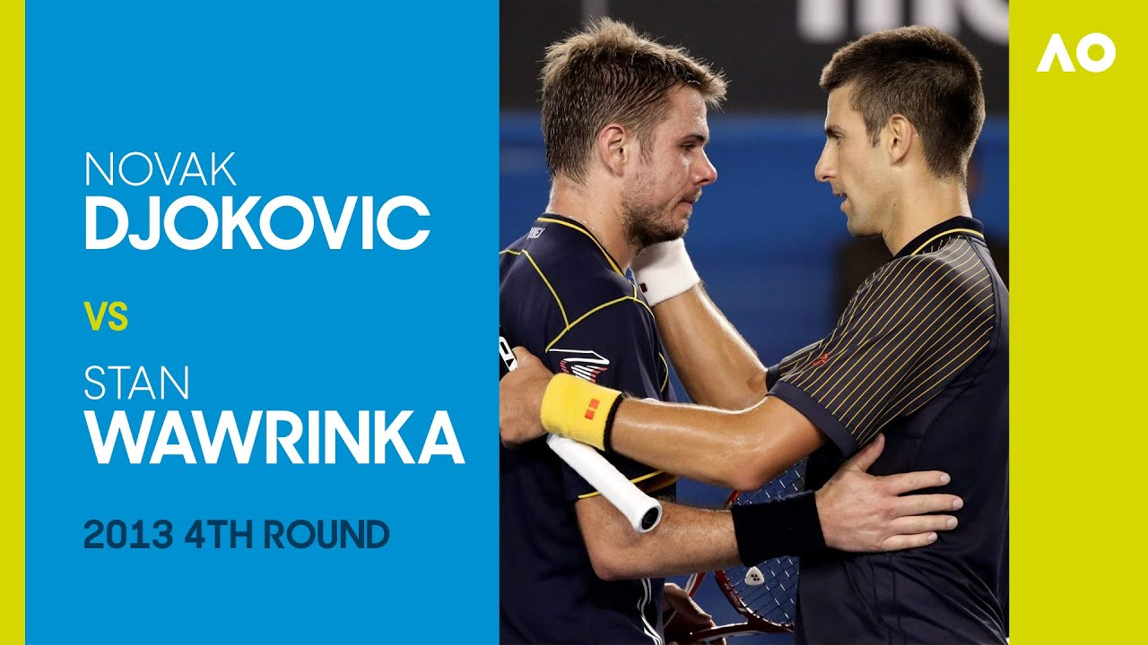Novak Djokovic v Stan Wawrinka - 4th Round AO2013