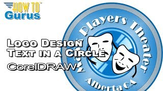 CorelDRAW Tutorial for Beginners How To Circle Text Logo 2019 2018 2017 X8 X7 X6