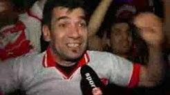Sport1 Fan-TV: Türkische Fans feiern den Sieg gegen Kroatien