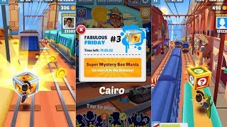 """Subway Surfers: Cairo (Fabulous """"Friday"""" Super Mystery Boxes!) Gameplay #3 On IOS"""