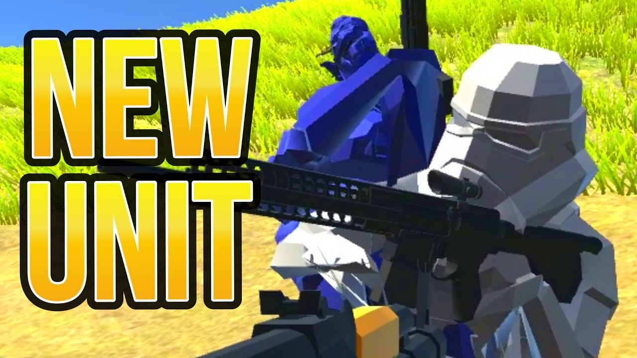 Ravenfield Stormtrooper Custom Soldier Models In Ravenfield Map Maker News Tutorial