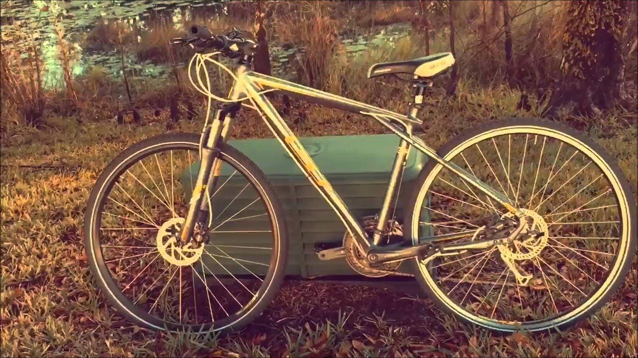 Gt Transeo Hybrid Bike Youtube