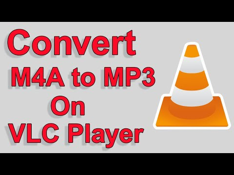 How to Convert M4A to MP3 on VLC Player