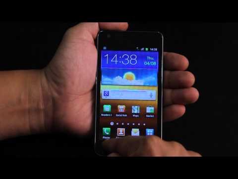 การตั้งค่า โทรศัพท์ Samsung Galaxy SII กับ dtac 3g