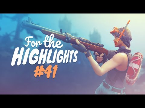 HUNTING RIFLE SNIPER IS MY NEW JAM! | FTH Ep. 41 (Fortnite Battle Royale Best Moments)