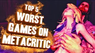 Top 5 - worst games on metacritic