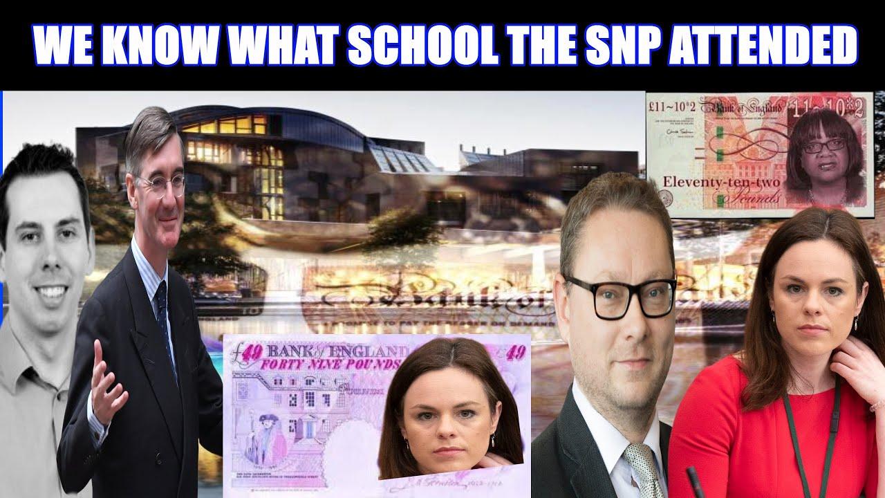 Jacob Rees-Mogg & Top Economist School The SNP After Their Diane Abbott Style Of Economics