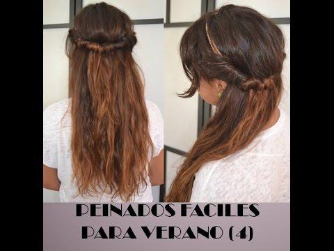 Peinados f ciles r pidos y bonitos para j venes verano - Peinados faciles y bonitos ...