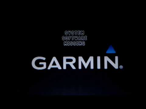 Garmin Nuvi 255W error message